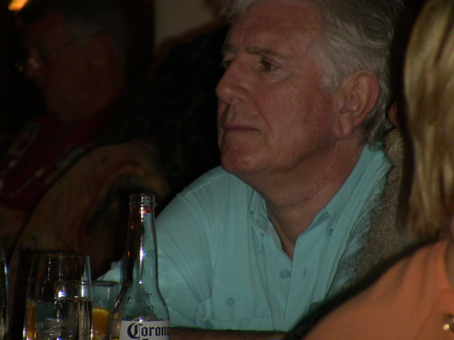 Graham Nash, having dinner on Kauai, December 5, 2008.