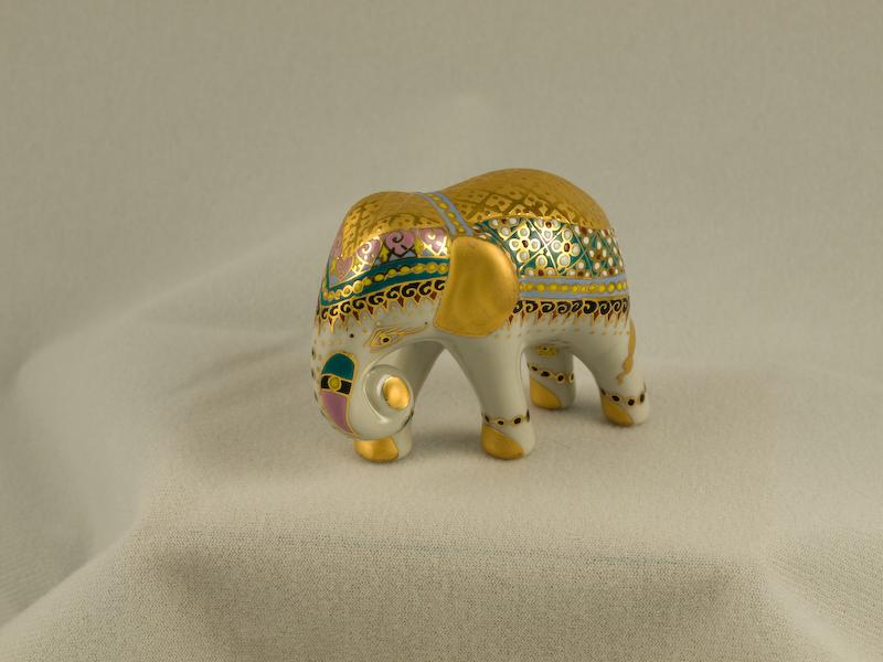 Benjarong Ceramic Elephant